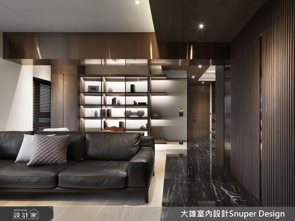 精工訂製現代風尚 沉穩大器的40坪居家典範