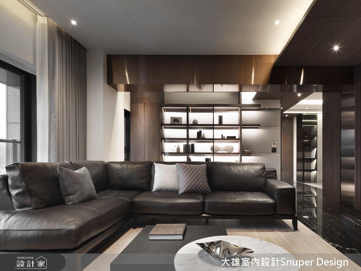 40坪新成屋(5年以下)_現代風客廳案例圖片_大雄室內設計Snuper Design_大雄_71之4