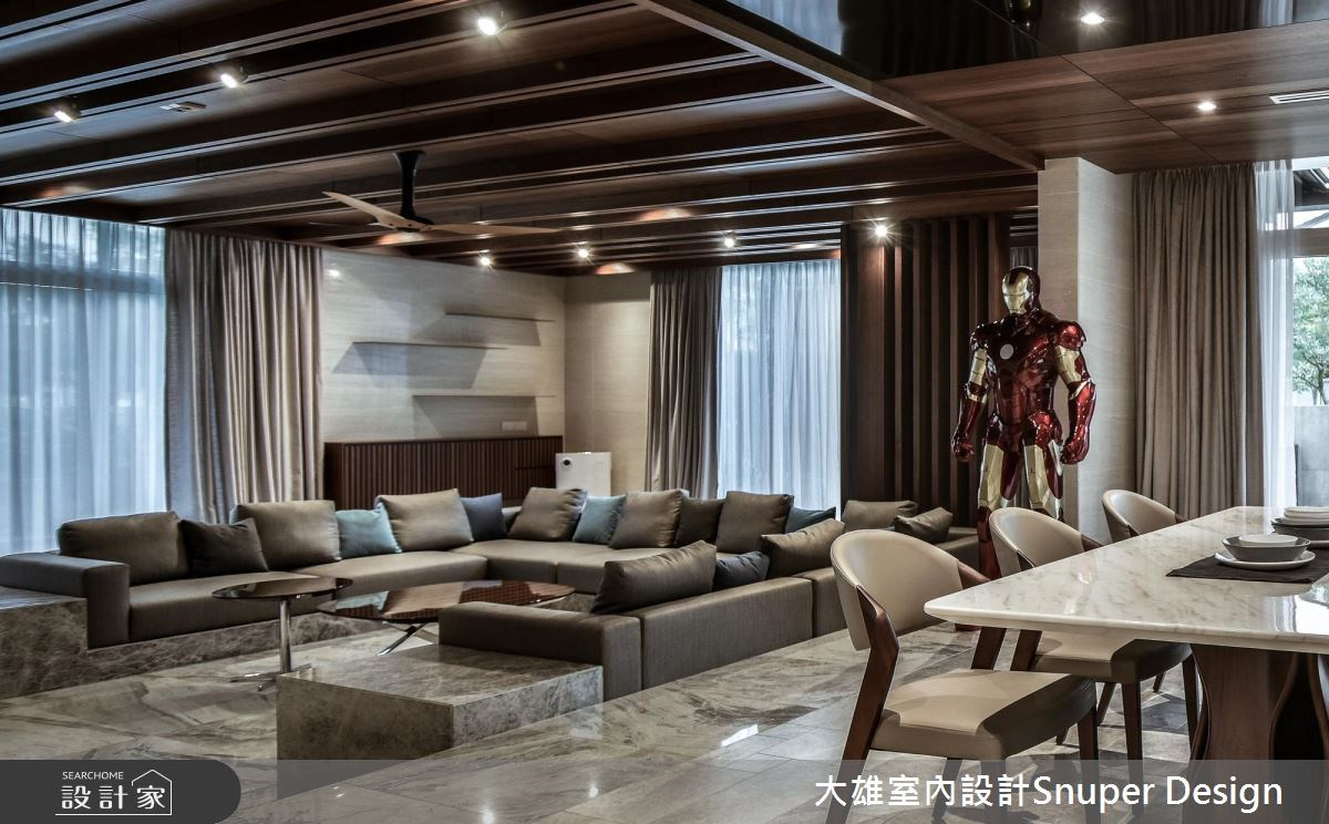 新成屋(5年以下)_現代風客廳案例圖片_大雄室內設計Snuper Design_大雄_74之3