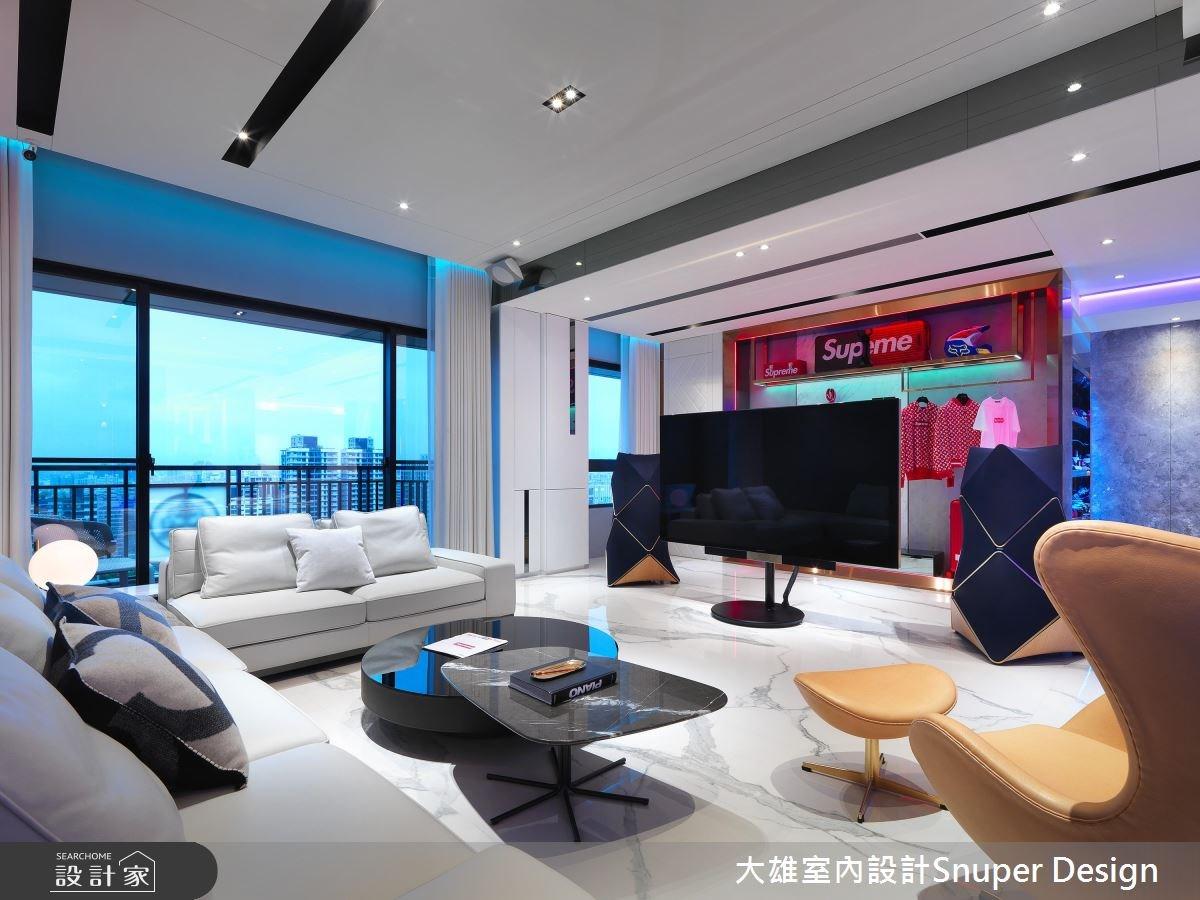 65坪新成屋(5年以下)_現代風客廳案例圖片_大雄室內設計Snuper Design_大雄_75之3
