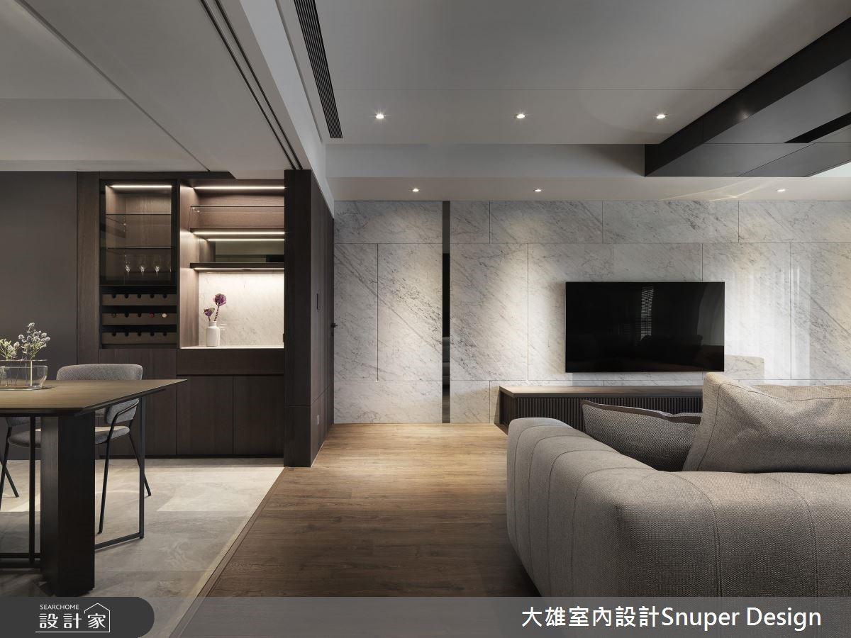 50坪新成屋(5年以下)_現代風客廳案例圖片_大雄室內設計Snuper Design_大雄_79之3