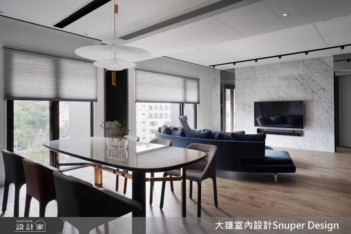 37坪新成屋(5年以下)_現代風客廳餐廳案例圖片_大雄室內設計Snuper Design_大雄_80之4