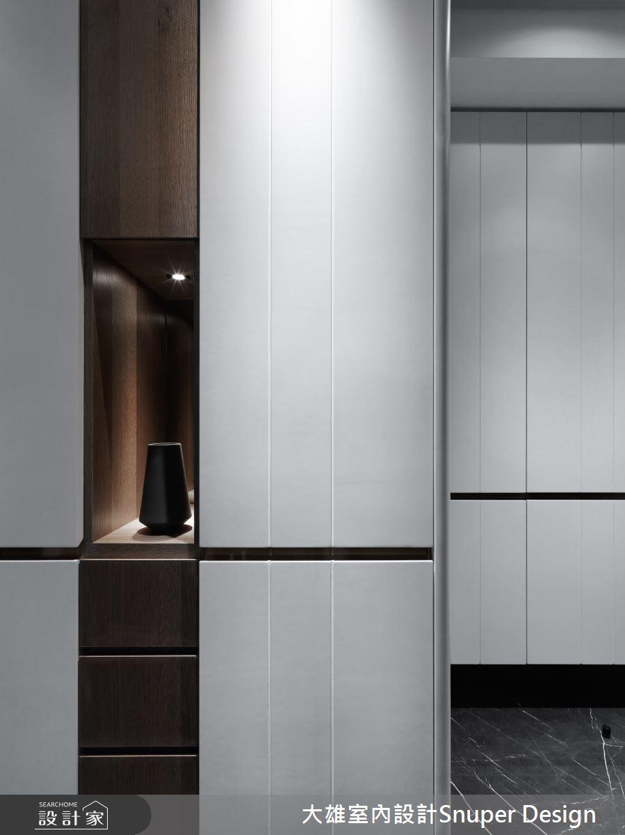 50坪新成屋(5年以下)_現代風玄關案例圖片_大雄室內設計Snuper Design_大雄_93之3