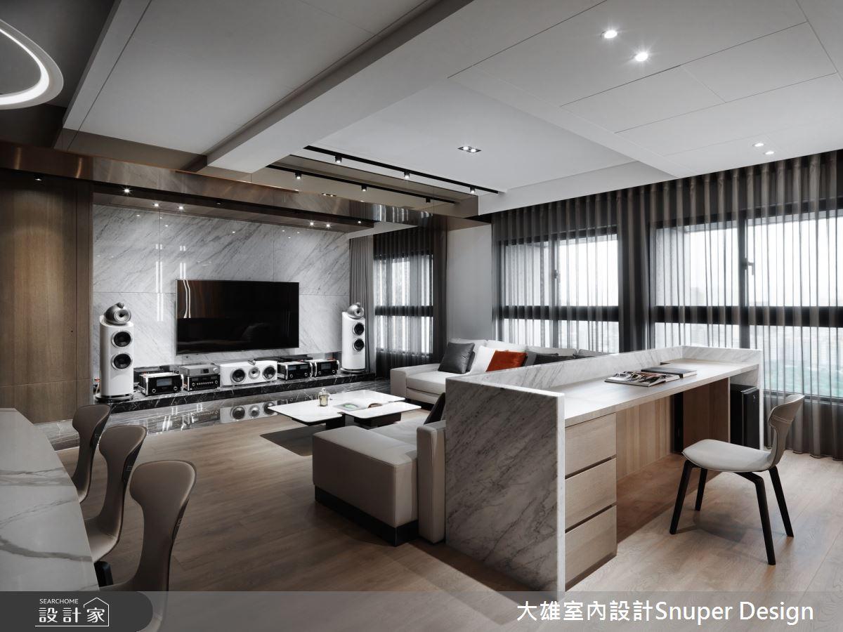 50坪新成屋(5年以下)_現代風客廳書房案例圖片_大雄室內設計Snuper Design_大雄_93之7