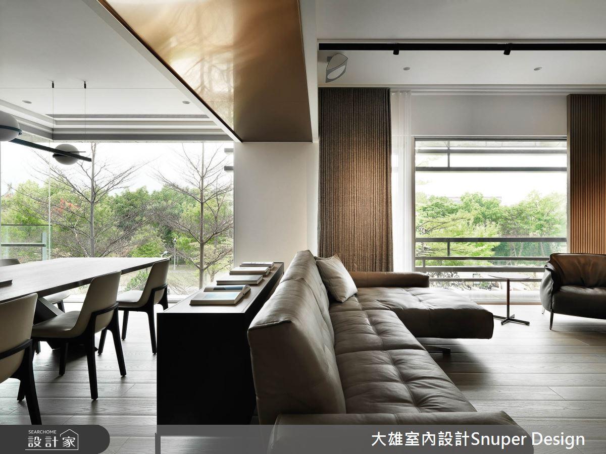 73坪預售屋_現代風客廳餐廳案例圖片_大雄室內設計Snuper Design_大雄_107之1