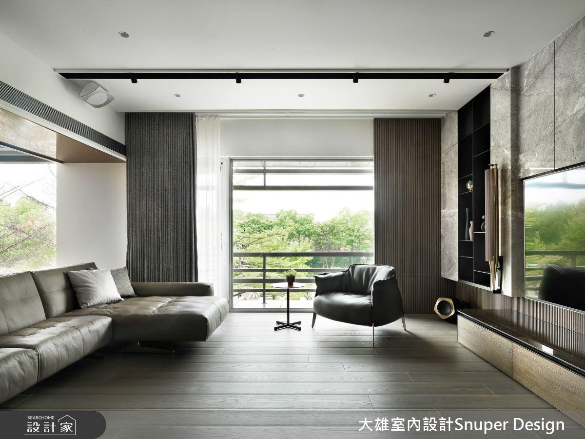 73坪預售屋_現代風客廳案例圖片_大雄室內設計Snuper Design_大雄_107之2