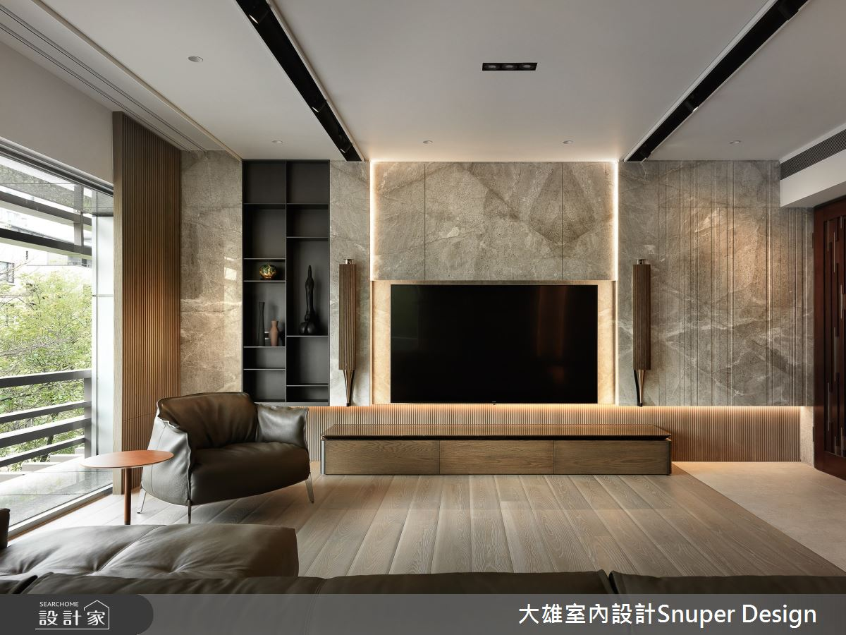 73坪預售屋_現代風客廳案例圖片_大雄室內設計Snuper Design_大雄_107之4