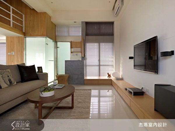 15坪新成屋(5年以下)_休閒風案例圖片_杰瑪室內設計_杰瑪_08之3