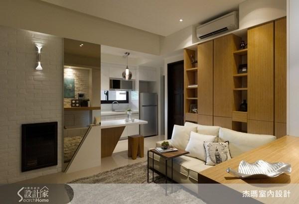 15坪新成屋(5年以下)_現代風案例圖片_杰瑪室內設計_杰瑪_10之1