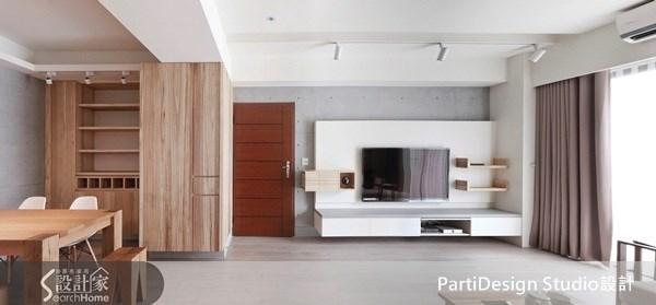 34坪_北歐風案例圖片_PartiDesign Studio_PartiDesign_02_家+ --無法離開家的新居概念之5