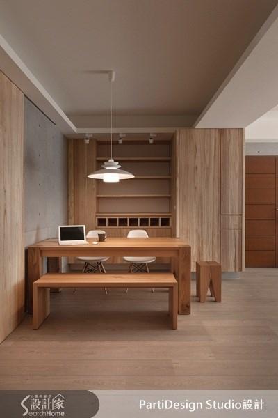 34坪_北歐風案例圖片_PartiDesign Studio_PartiDesign_02_家+ --無法離開家的新居概念之4