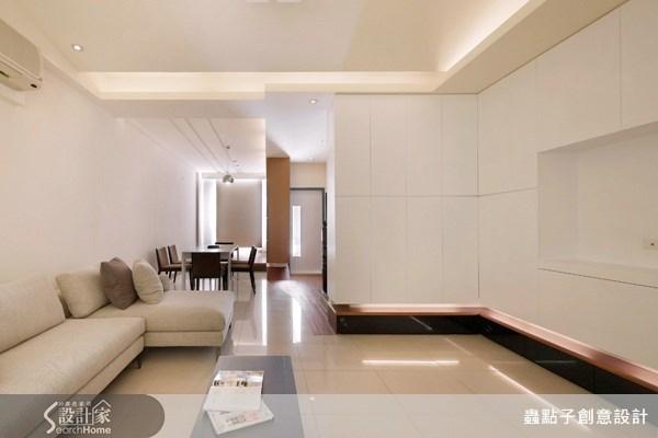30坪新成屋(5年以下)_現代風客廳案例圖片_蟲點子創意設計_蟲點子_05之3