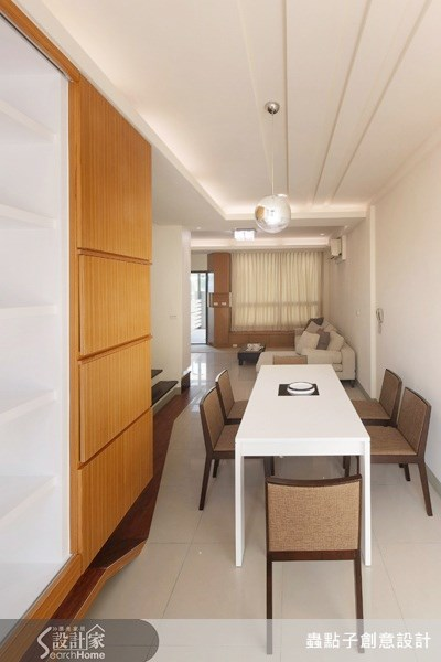 30坪新成屋(5年以下)_現代風餐廳案例圖片_蟲點子創意設計_蟲點子_05之4