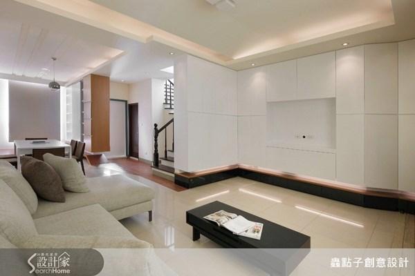 30坪新成屋(5年以下)_現代風客廳案例圖片_蟲點子創意設計_蟲點子_05之1
