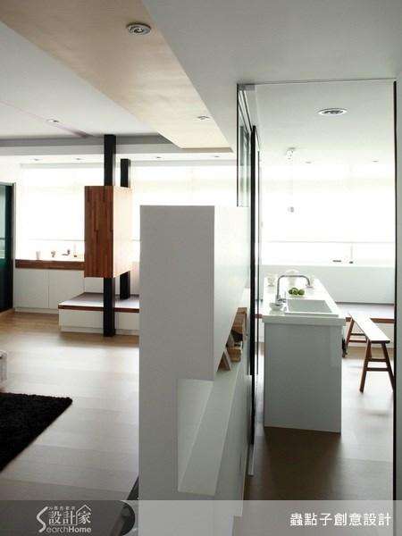 18坪老屋(16~30年)_現代風走廊案例圖片_蟲點子創意設計_蟲點子_07之14