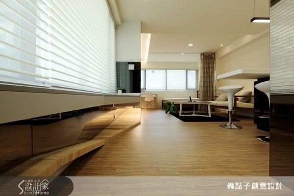 12坪老屋(16~30年)_現代風走廊案例圖片_蟲點子創意設計_蟲點子_10之3