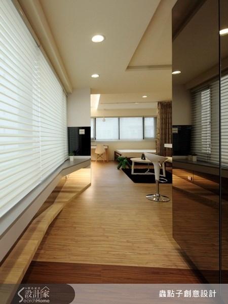 12坪老屋(16~30年)_現代風走廊案例圖片_蟲點子創意設計_蟲點子_10之2