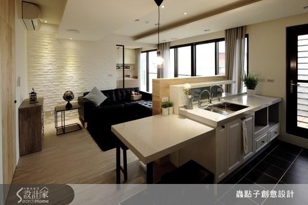 18坪新成屋(5年以下)_混搭風廚房案例圖片_蟲點子創意設計_蟲點子_11之3