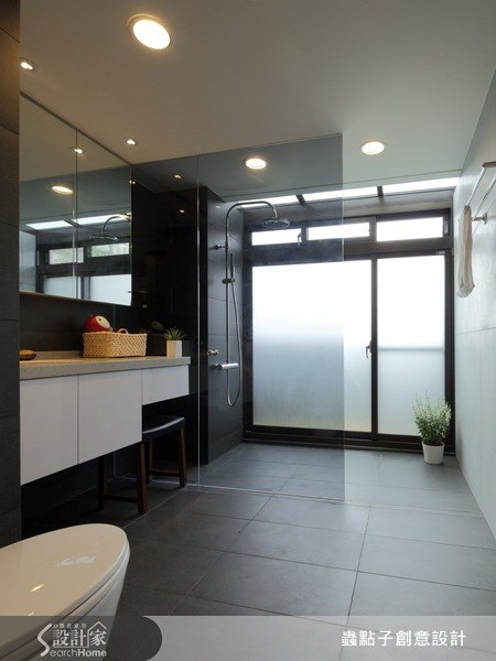 18坪新成屋(5年以下)_混搭風浴室案例圖片_蟲點子創意設計_蟲點子_11之16