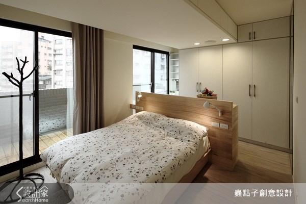 18坪新成屋(5年以下)_混搭風臥室案例圖片_蟲點子創意設計_蟲點子_11之13