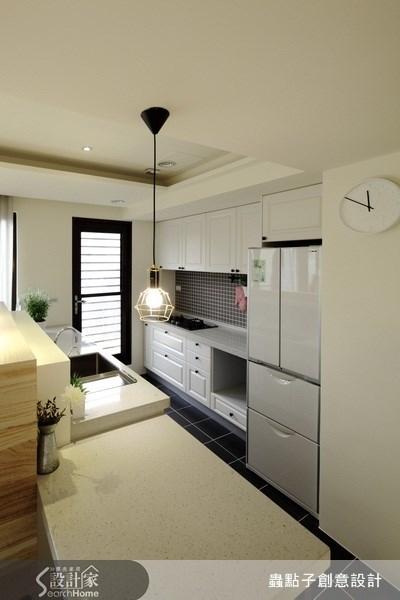 18坪新成屋(5年以下)_混搭風廚房案例圖片_蟲點子創意設計_蟲點子_11之4