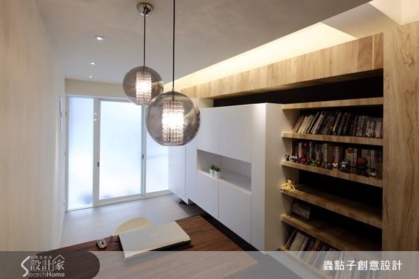 18坪老屋(16~30年)_現代風書房案例圖片_蟲點子創意設計_蟲點子_12之6