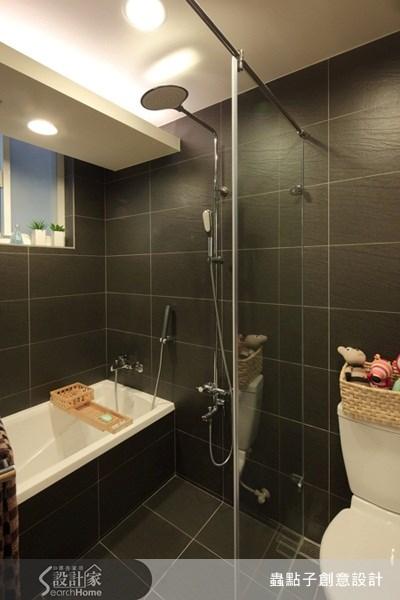 18坪老屋(16~30年)_現代風浴室案例圖片_蟲點子創意設計_蟲點子_12之12