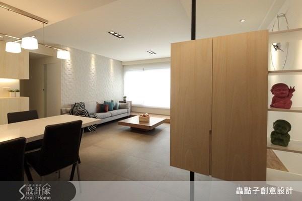 32坪老屋(16~30年)_現代風客廳案例圖片_蟲點子創意設計_蟲點子_13之1