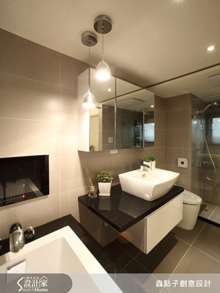 32坪老屋(16~30年)_現代風浴室案例圖片_蟲點子創意設計_蟲點子_13之16