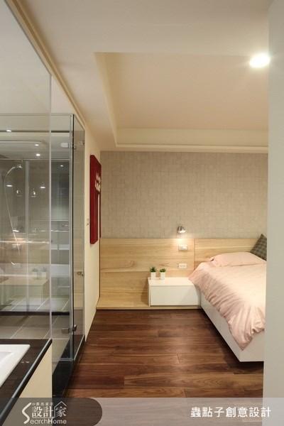 32坪老屋(16~30年)_現代風臥室案例圖片_蟲點子創意設計_蟲點子_13之14