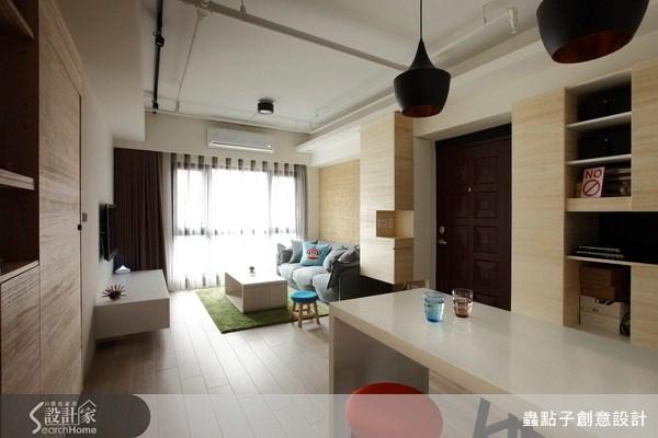 19坪新成屋(5年以下)_簡約風餐廳案例圖片_蟲點子創意設計_蟲點子_17之3