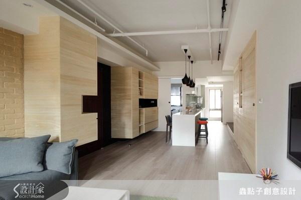 19坪新成屋(5年以下)_簡約風客廳案例圖片_蟲點子創意設計_蟲點子_17之4