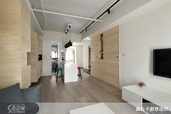 19坪新成屋(5年以下)_簡約風客廳案例圖片_蟲點子創意設計_蟲點子_17之5