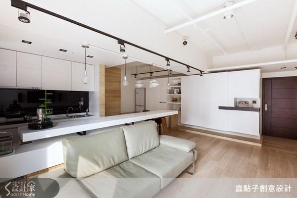 17坪新成屋(5年以下)_簡約風客廳案例圖片_蟲點子創意設計_蟲點子_20之1