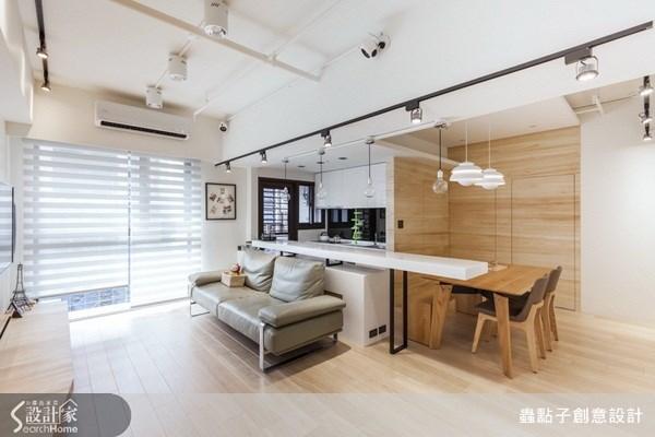 17坪新成屋(5年以下)_簡約風客廳案例圖片_蟲點子創意設計_蟲點子_20之4