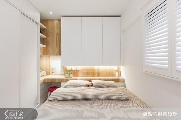 17坪新成屋(5年以下)_北歐風臥室案例圖片_蟲點子創意設計_蟲點子_21之26