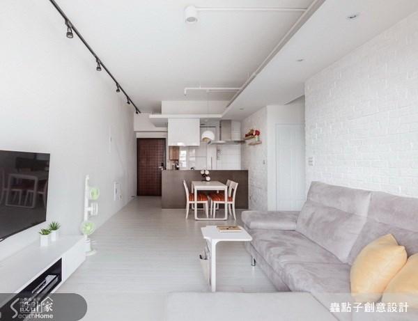 17坪新成屋(5年以下)_北歐風客廳案例圖片_蟲點子創意設計_蟲點子_21之1