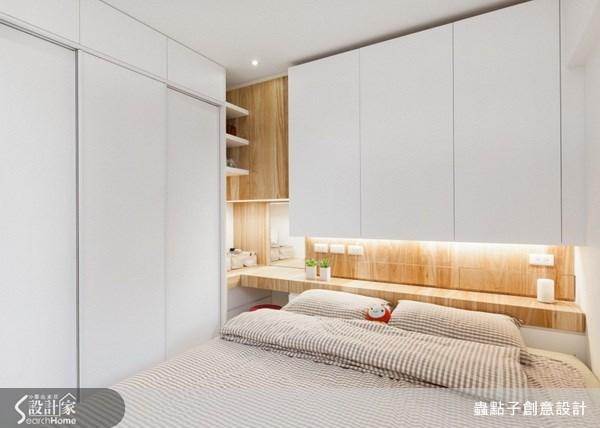 17坪新成屋(5年以下)_北歐風臥室案例圖片_蟲點子創意設計_蟲點子_21之27