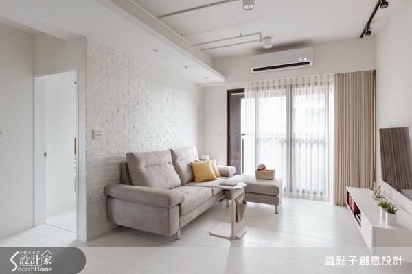 17坪新成屋(5年以下)_北歐風客廳案例圖片_蟲點子創意設計_蟲點子_21之15