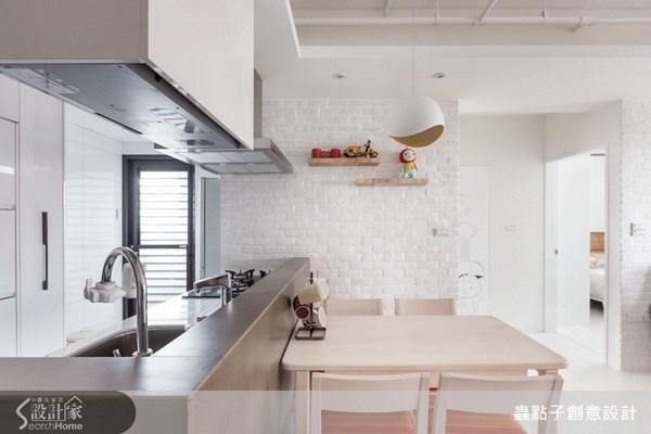 17坪新成屋(5年以下)_北歐風餐廳案例圖片_蟲點子創意設計_蟲點子_21之9