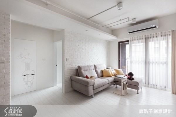 17坪新成屋(5年以下)_北歐風客廳案例圖片_蟲點子創意設計_蟲點子_21之16