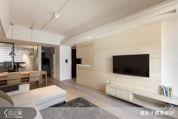 23坪新成屋(5年以下)_北歐風客廳案例圖片_蟲點子創意設計_蟲點子_22之4