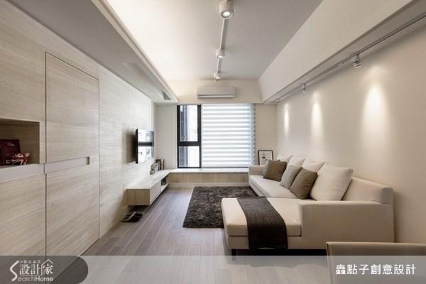 23坪新成屋(5年以下)_北歐風客廳案例圖片_蟲點子創意設計_蟲點子_22之5