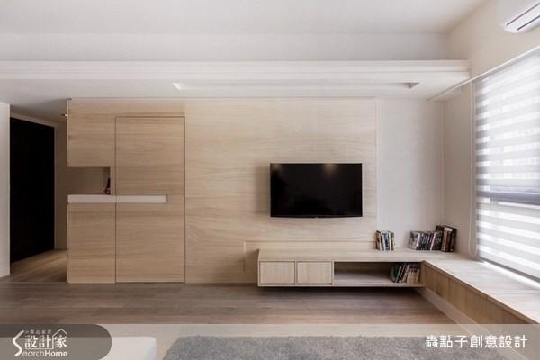 23坪新成屋(5年以下)_北歐風客廳案例圖片_蟲點子創意設計_蟲點子_22之3