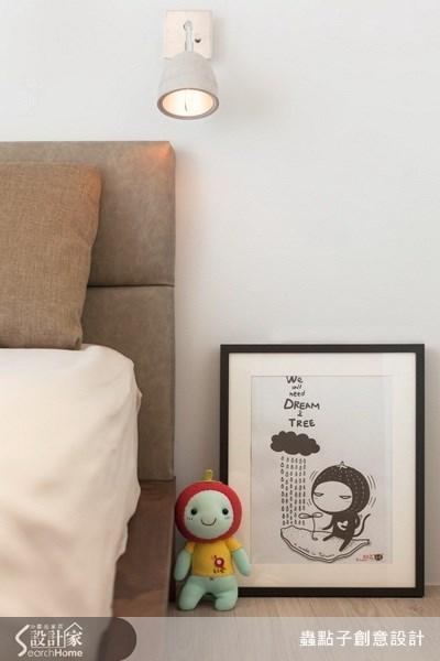 23坪新成屋(5年以下)_北歐風臥室案例圖片_蟲點子創意設計_蟲點子_22之23