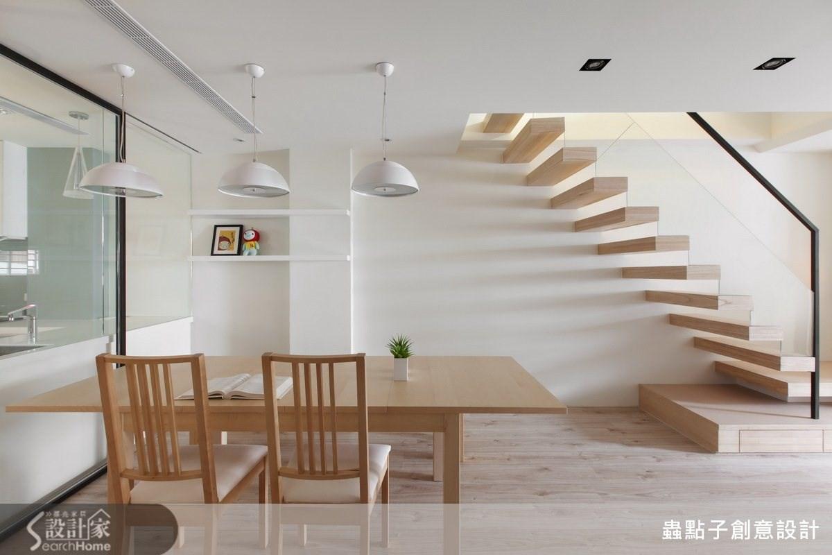 60坪中古屋(5~15年)_簡約風餐廳案例圖片_蟲點子創意設計_蟲點子_23之3