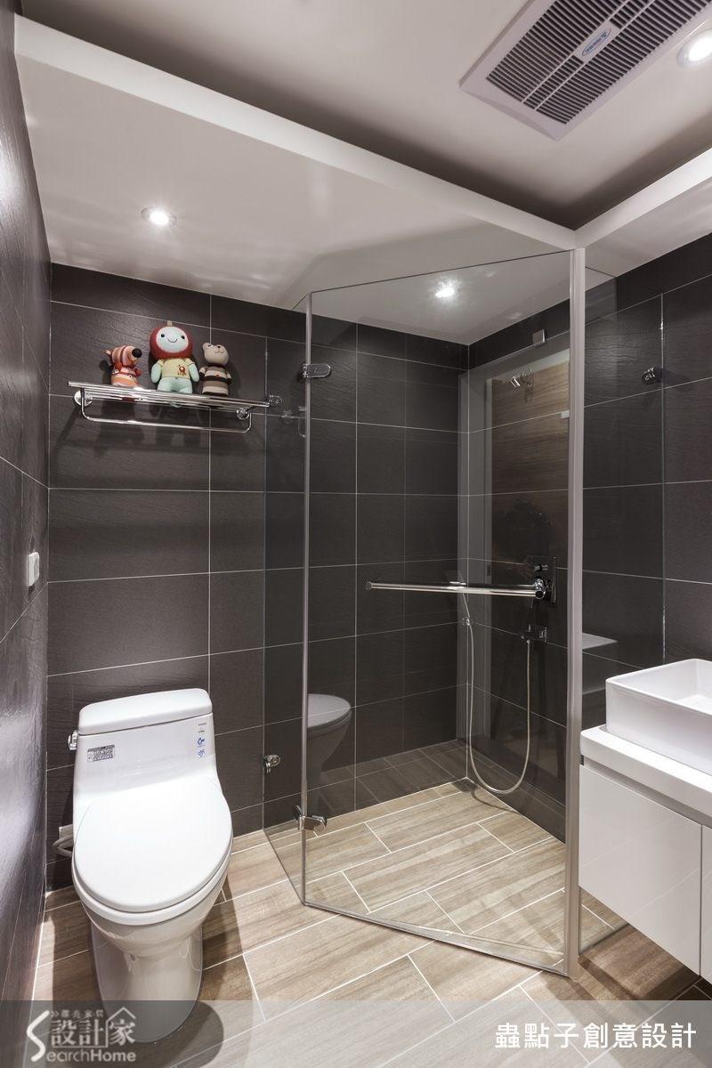 12坪老屋(16~30年)_工業風浴室案例圖片_蟲點子創意設計_蟲點子_25之27