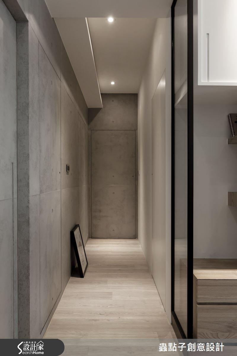 30坪新成屋(5年以下)_簡約風走廊案例圖片_蟲點子創意設計_蟲點子_26之25