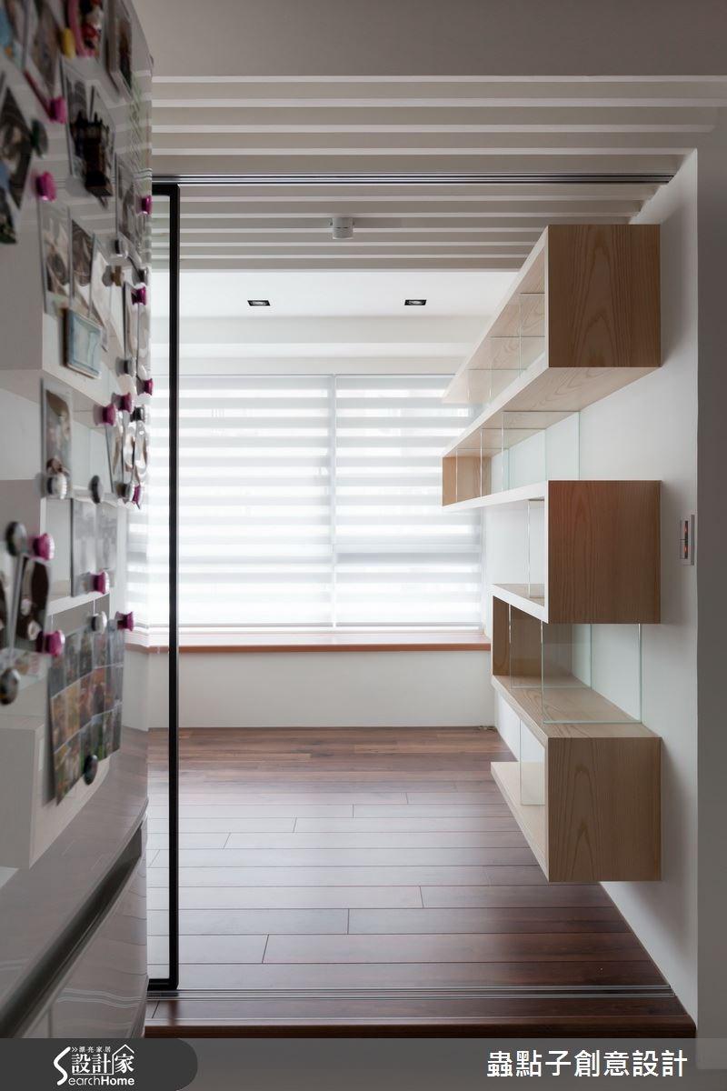 20坪新成屋(5年以下)_北歐風書房案例圖片_蟲點子創意設計_蟲點子_28之4