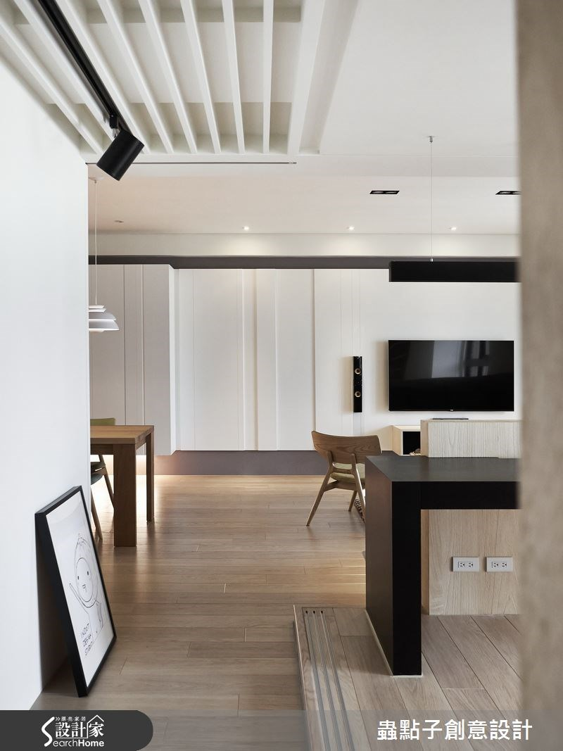 35坪新成屋(5年以下)_北歐風客廳案例圖片_蟲點子創意設計_蟲點子_32之4